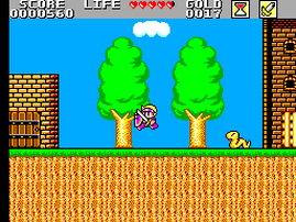 Super Wonderboy - Monster World