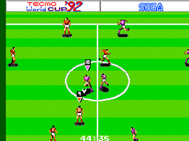 World Cup '92 by Tecmo